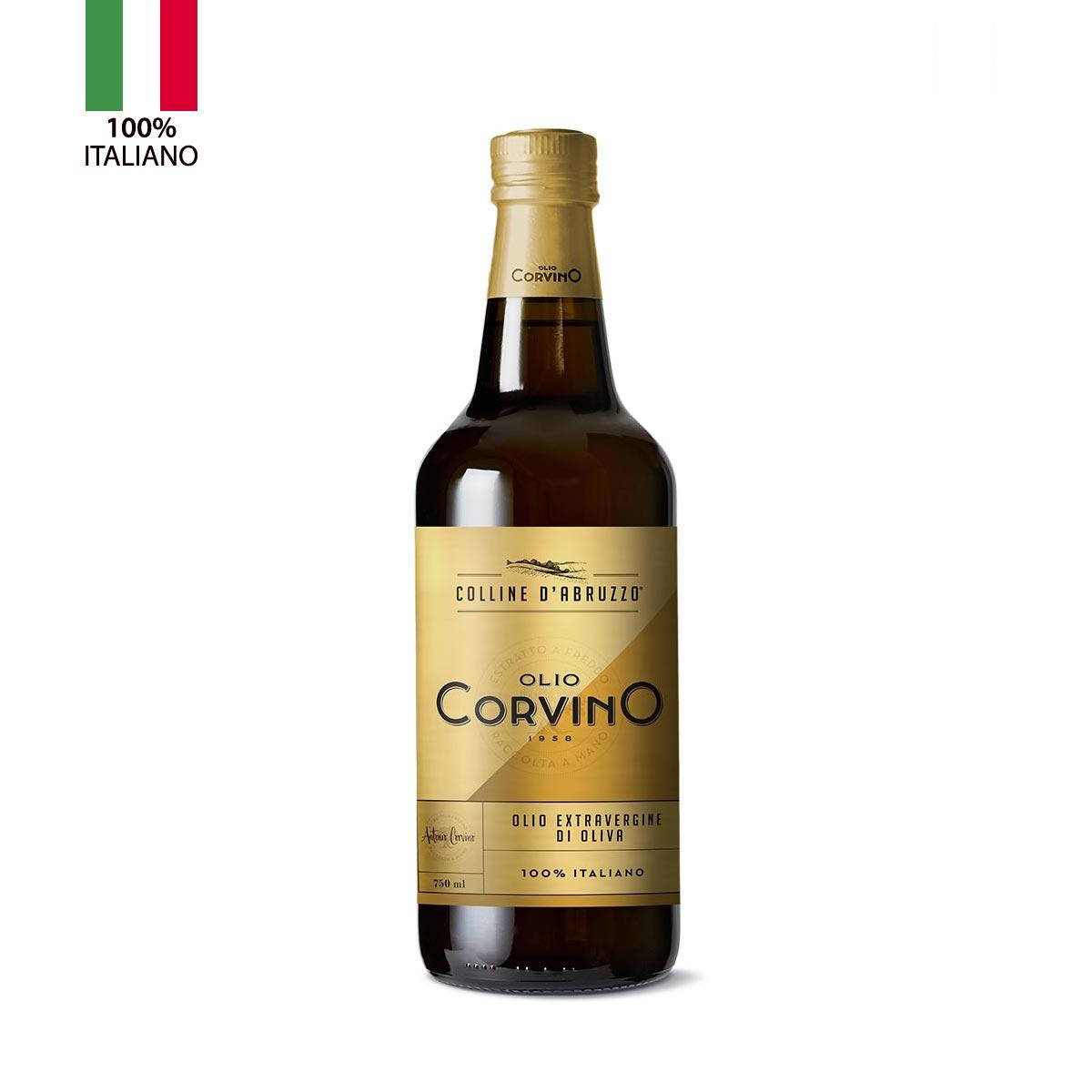 Olio Extravergine D'Oliva Colline D'Abruzzo Bottiglia 0,75 litri Italiano