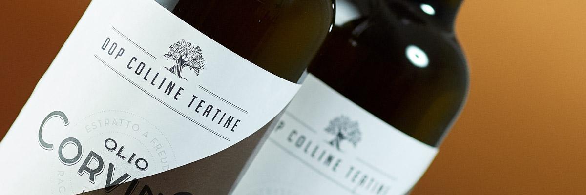 Etichetta Olio Extravergine di oliva DOP Colline Teatine