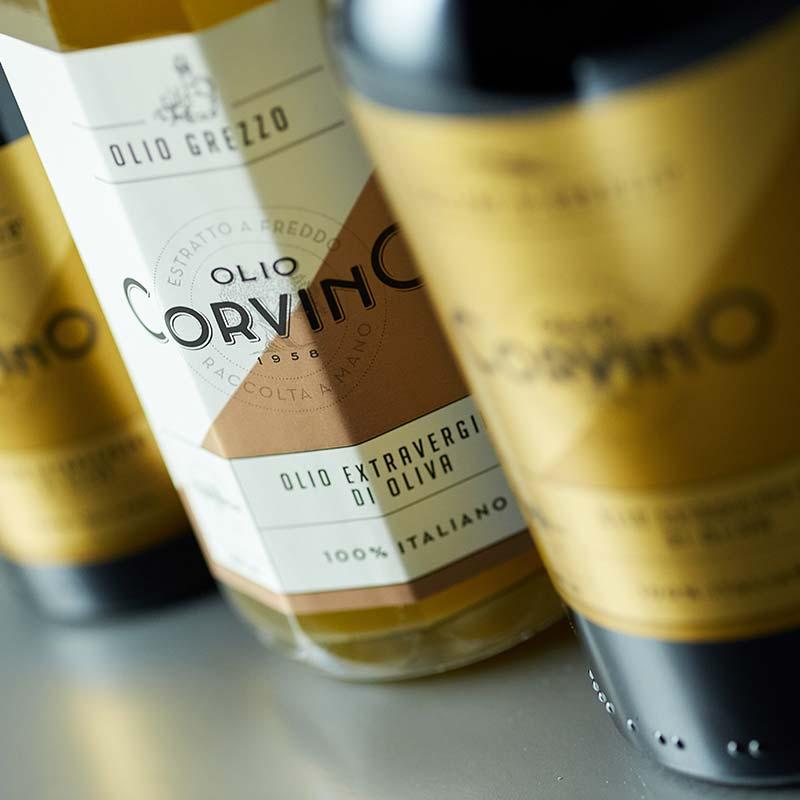 Olio Extravergine di oliva grezzo