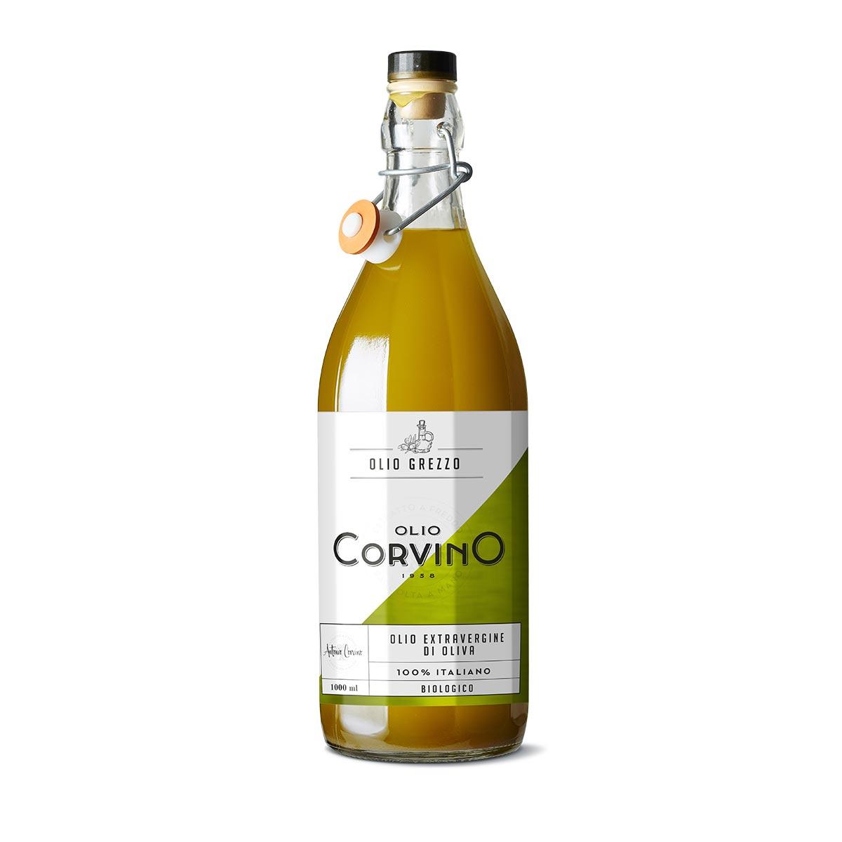 n.6 bottiglie Olio Grezzo Biologico 1L