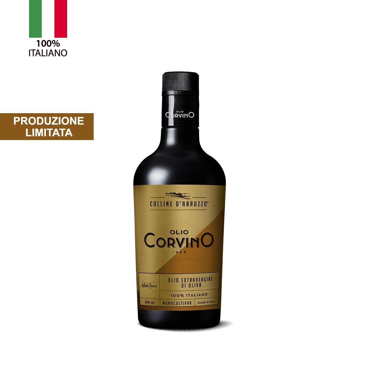 """n.6 bottiglie Olio Evo Monocultivar """"Gentile di Chieti"""" 0,50 lt – produzione limitata"""