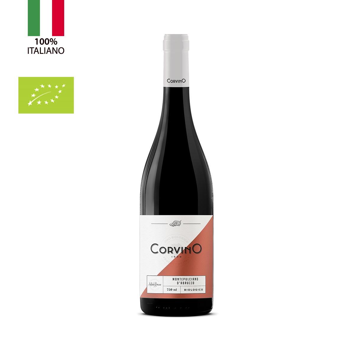 n.6 bottiglie Montepulciano d'Abruzzo Biologico