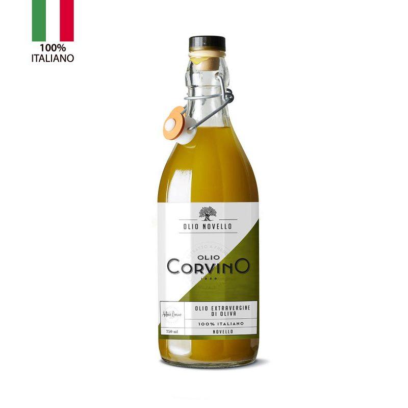 Olio Extravergine D'Oliva Novello Italiano 0,75 litri