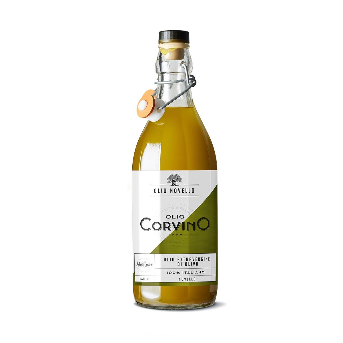 n.6 bottiglie Olio Novello 750ml