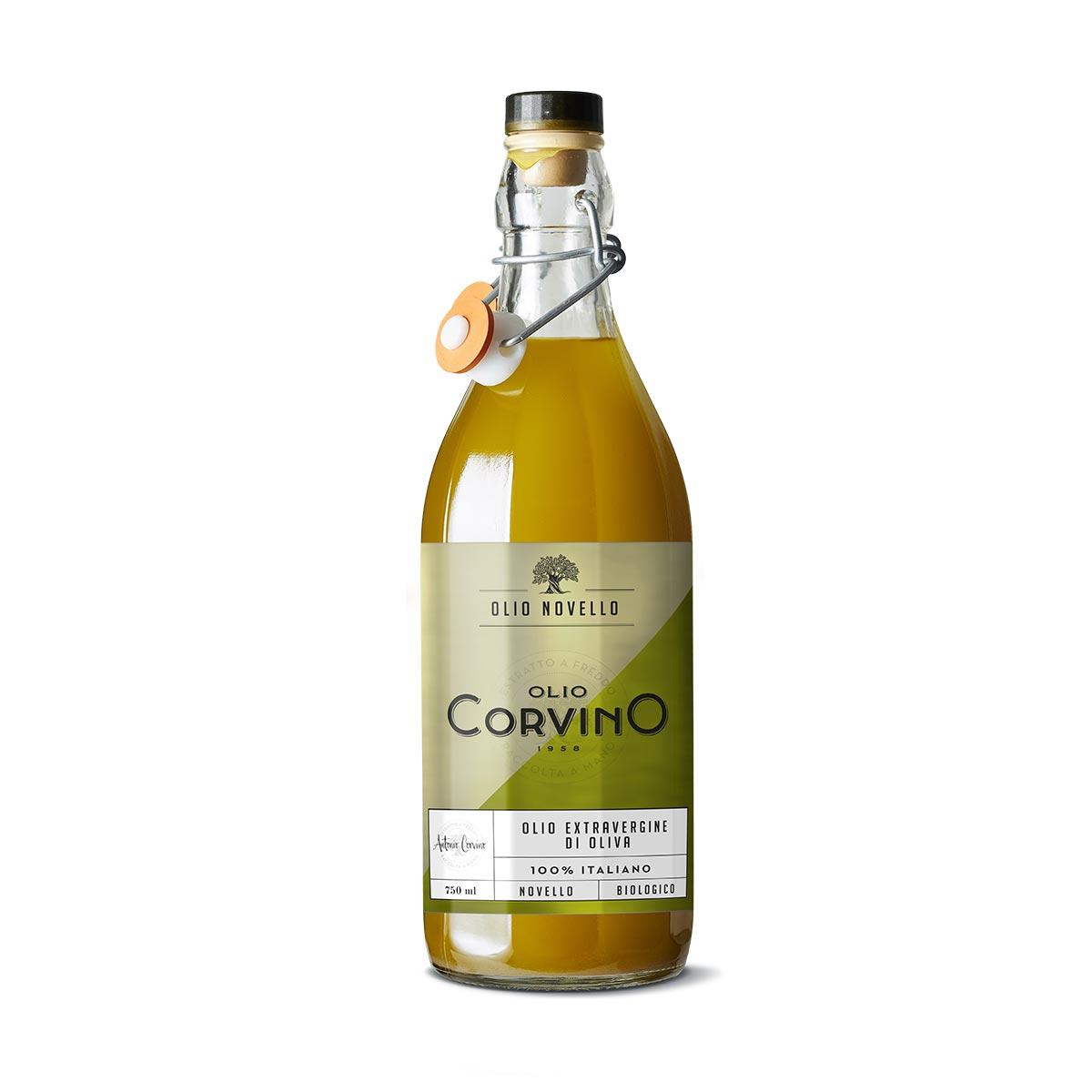 n.6 bottiglie Olio Novello Biologico 750ml