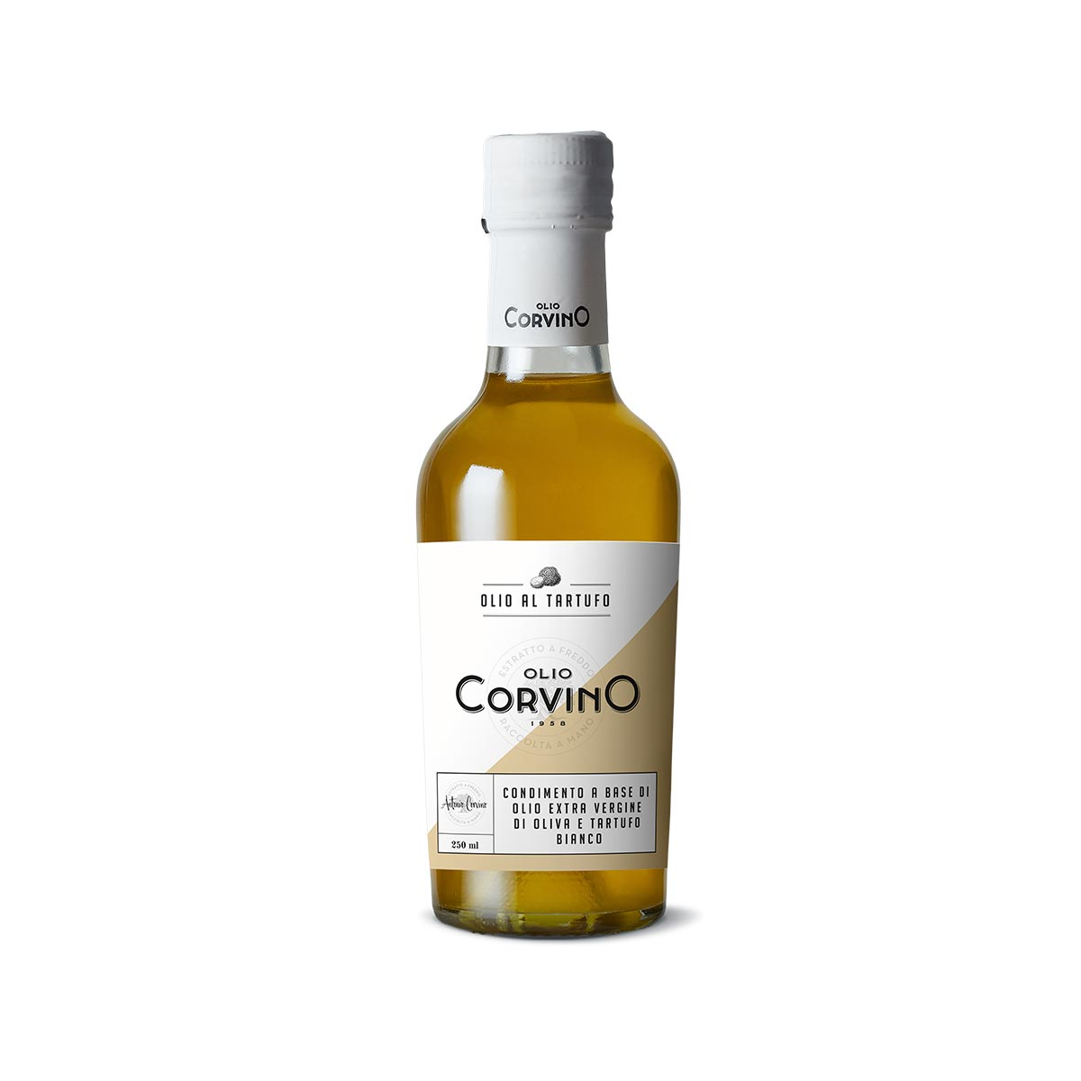 Olio aromatizzato al Tartufo bianco 250ml